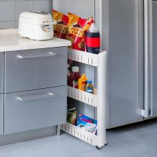 3 Tier  Rack Shelf With Wheels