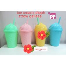ICE CREAM SHEPH STROW GLASS