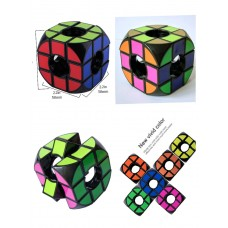 3d Puzzle  .Gare Cube.Box Pack ..