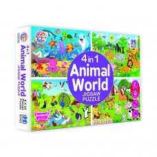 4 in 1 Jigsaw Puzzle