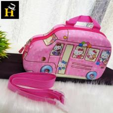 Backpack Kids 3D Cartoon Car School Bag