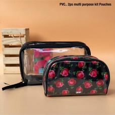 2 ps Set.. Multipurpose Kit Pouches
