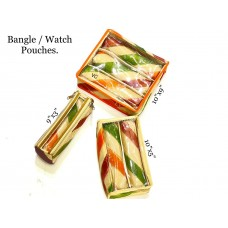 Bangle / Watch Pouches.Single Roll:-395/- Double Roll:-495/- Tripple Roll:-620/