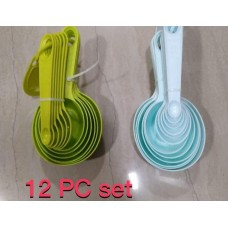 12pc Combo Measuring Cup