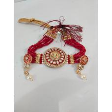 Gold Plated Kundan Pearl